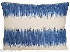 Blue-Stripe-Cushion-Cover-Beige-Pillow-Case-Moschino-Nicholas-Haslam-Hampton-039-s