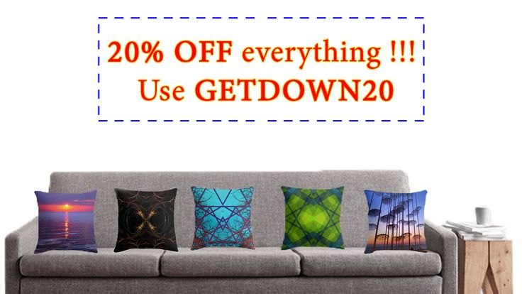 Get down with 20% off everything. Use GETDOWN20. #sales #discount #homedecor #homegifts #home #pillows #throwpillows #buypillows #homegifts #winter #livingroom #bedroom #offer #20OFF #giftsforher #buyhomegifts #kidsroom #bedroomdecor  #redbubble