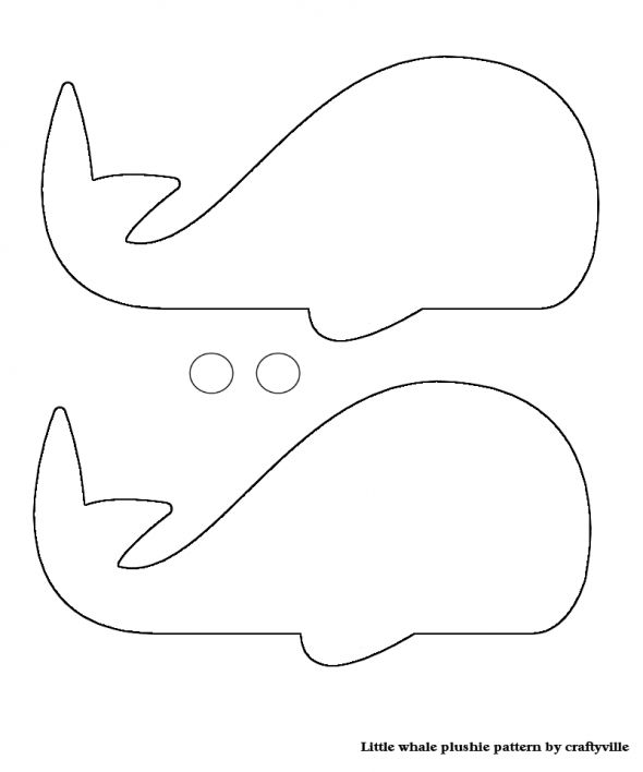 Whale Pattern. Photo Card Template from.