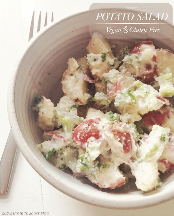 potato salad. vegan & gluten free!