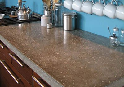 Concrete Counter-sealed
