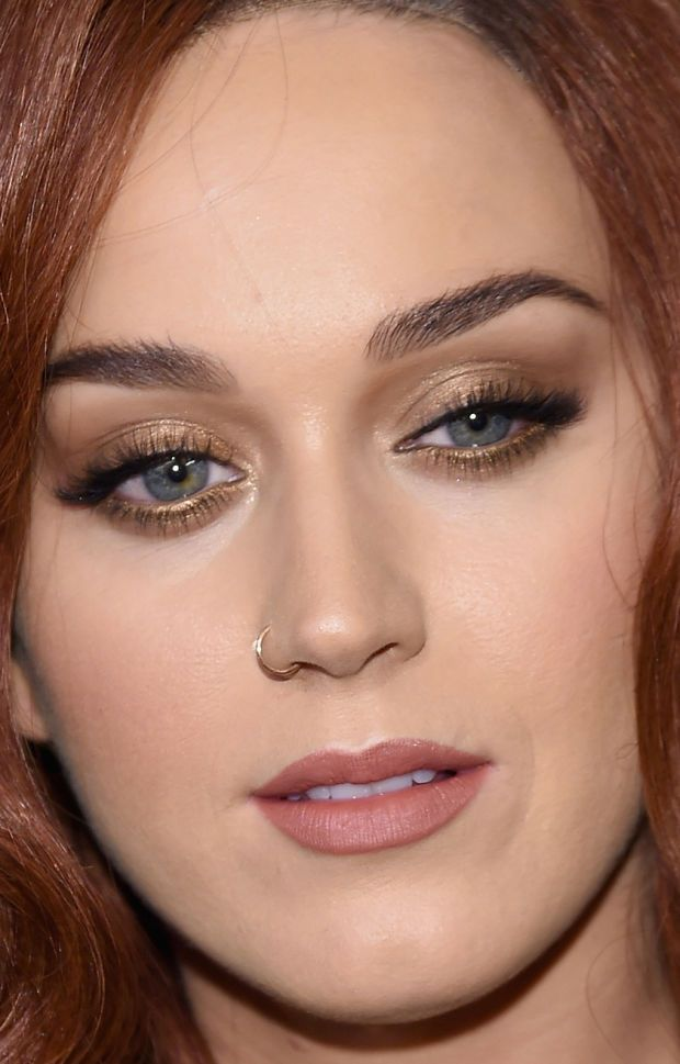 Close-up of Katy Perry at the 2015 Harper's Bazaar Icons event. http://beautyeditor.ca/2015/09/21/best-beauty-looks-bella-thorne: