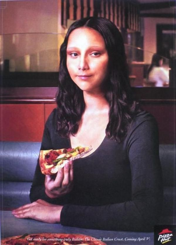 Ad for Pizza Hut