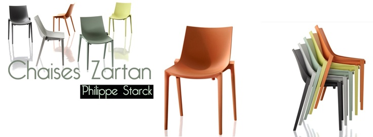 Chaise Zartan | Chaise design | Philippe Starck | A découvrir chez ma-maison-deco