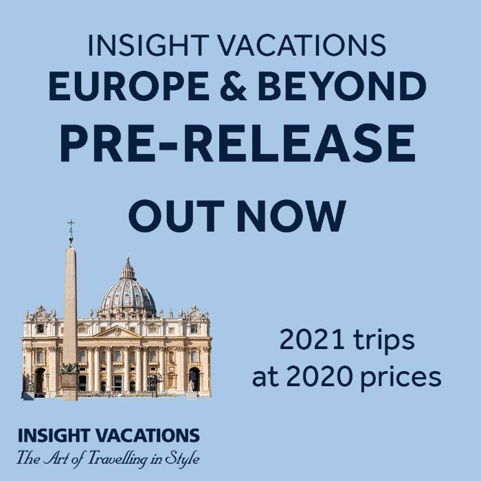Book 2021 Tours At 2020 Prices With Insight Vacations Pre Release Deals In 2020 Europe Vacation Europe Tours Europe