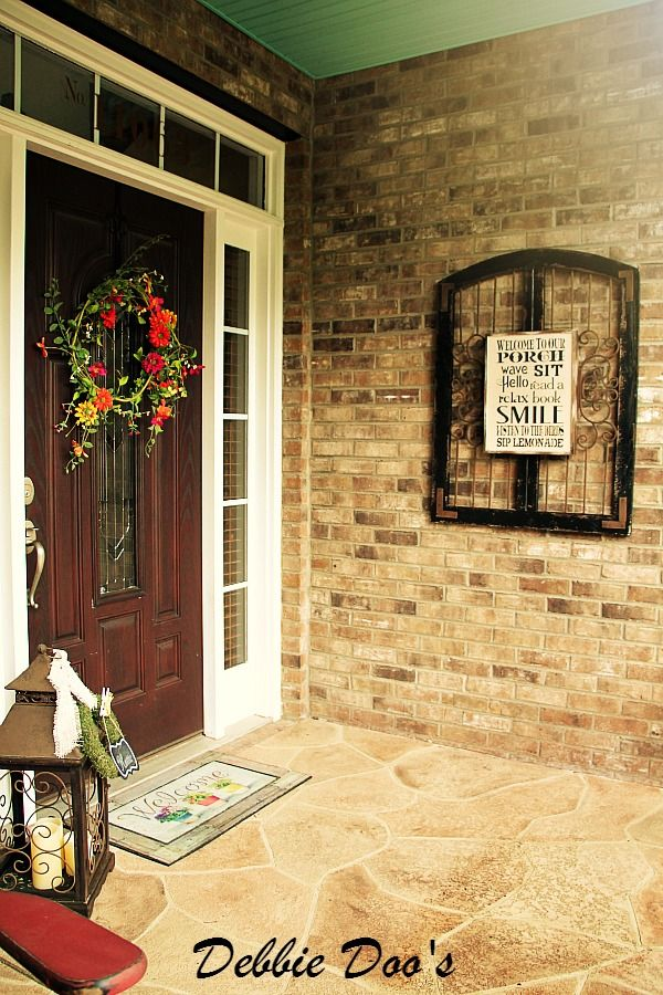 78 best House: Outdoor - Front Porch Decor images on Pinterest ...