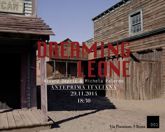 DREAMING LEONE book launch at 001 in Rome  Join us tomorrow Saturaday Novemember 29th for the book presentation of DREAMING LEONE at 001, a new space dedicated to photography in Rome. Together with Alvaro, we will talk about the process behind DREAMING LEONE and our collaboration.  You can have more detail about the event here You can order DREAMING LEONE directly through Alvaro Deprit's website.  IT WOULD BE NICE TO SEE YOU THERE!