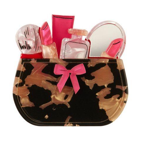 Erstwilder Limited Edition Carmen's Cosmetics Brooch, $34.95 (AUD)