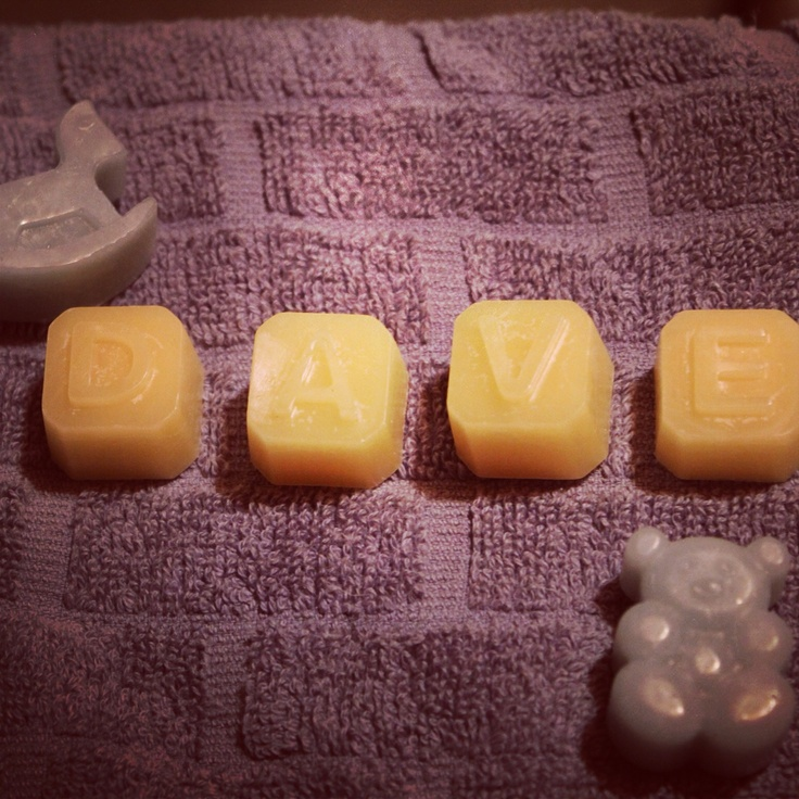 Letter candle melts #candlemelts #bomboniere #scents #babyshower #baby #favours