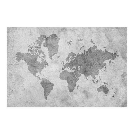 Bilderwelten Vliestapete Breit »Vintage Weltkarte II«