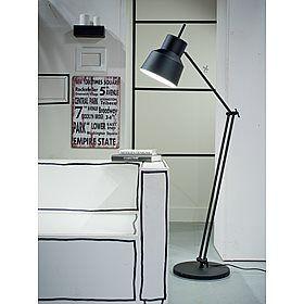 It's about RoMi Belfast Vloerlamp 165 cm - Mat Zwart