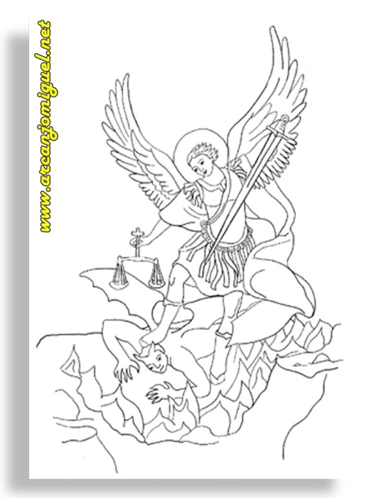 Www Arcanjomiguel Net P 225 Ginas Para Colorir Desenhos De