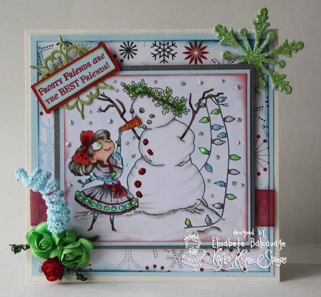E Creations - Frosty Friends
