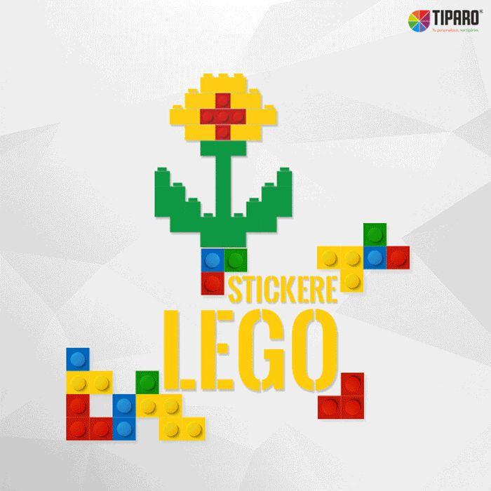 Stickere LEGO pentru camera copilului
