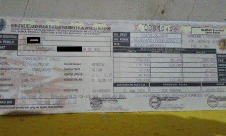 mega-biro-jasa-bandung3: Dokumentasi STNK dan Pajak Tahunan lainnya Tahun 2...