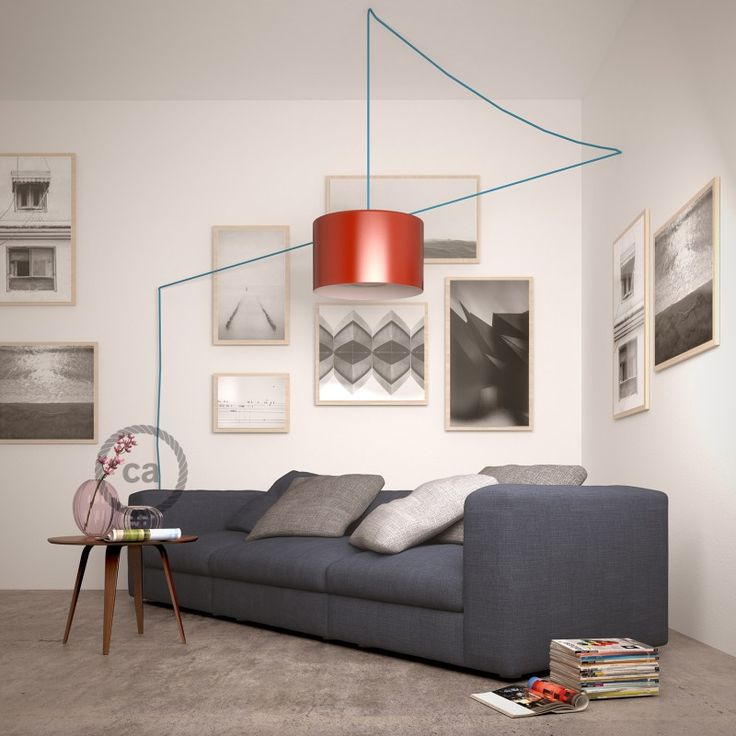 Snake for Lampshade! Pendant Light with bakelite lampholder with two ferrules for your lampshade! www.creative-cables.it #homedesign #homestyle #deco #lighting #illuminazione #fashion #home #haus #hogar