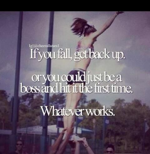Cheerleading! This is awesome.