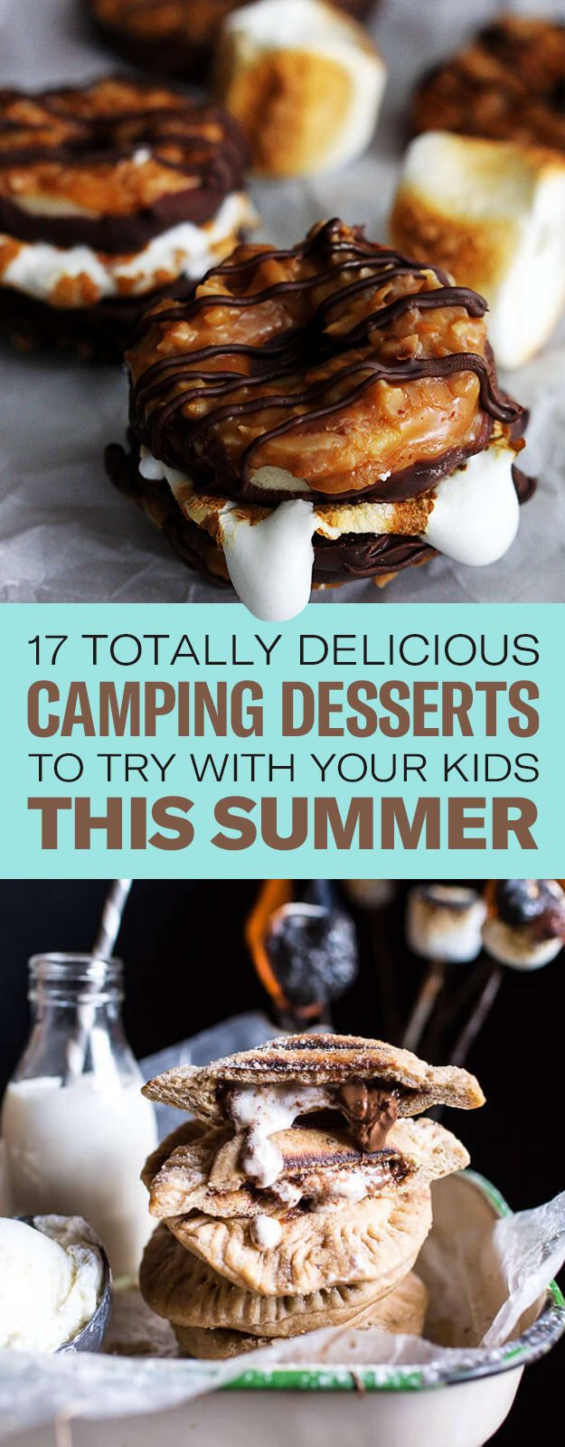 """17 Totally Delicious Camping Desserts That'll Make Your Kids Say, """"Let's Go, Let's Go!"""""""