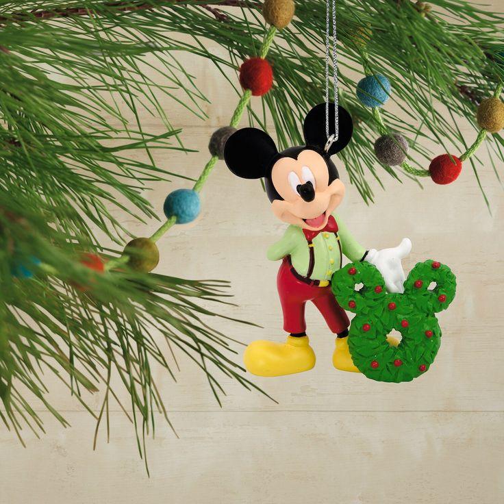 Disney Mickey Mouse Wreath 2019 Hallmark Christmas