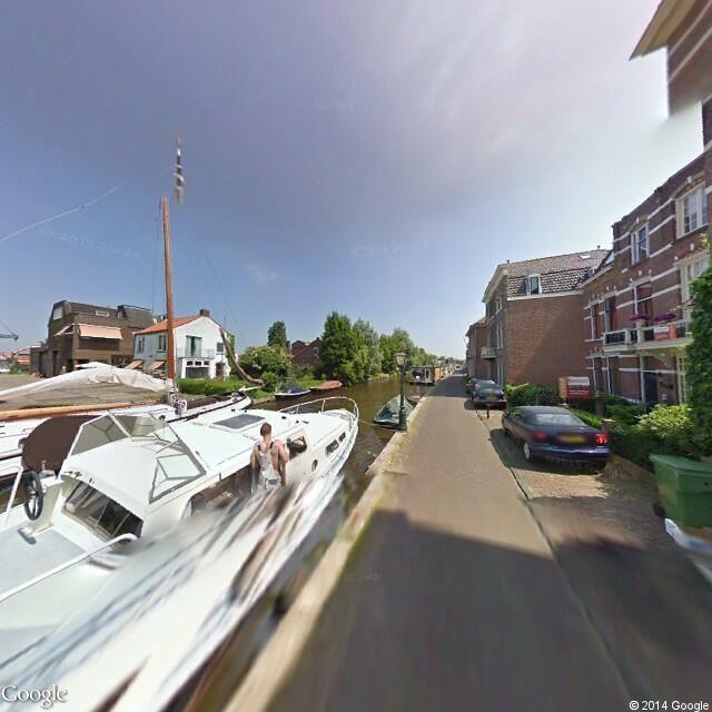 Leiden. Utrechtse jaagpad 15, hier ben ik opgegroeid.
