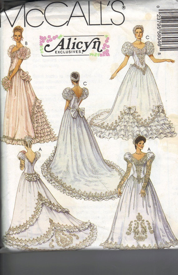 176 best Old sewing patterns images on Pinterest | Vintage weddings ...