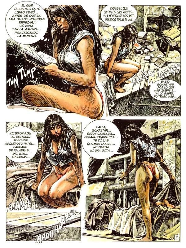 Pity, that Adult graphic novel comic book art not