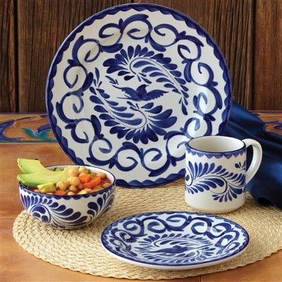 Guiding The Brides Puebla Dinnerware Set