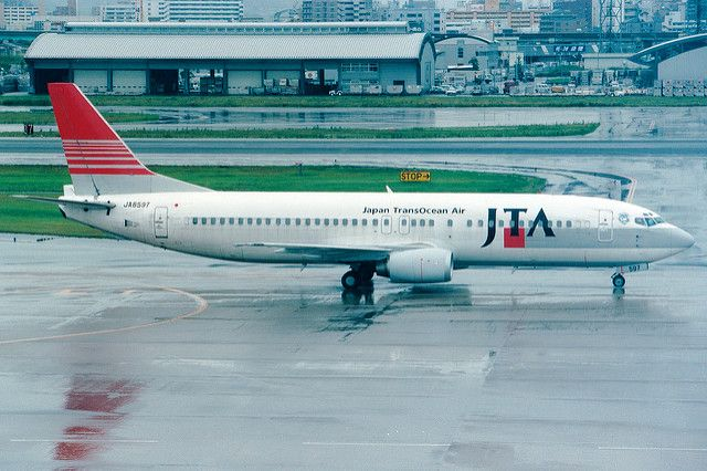 Japan TransOcean Air | Boeing 737-400 | JA8597 | Fukuoka | Flickr