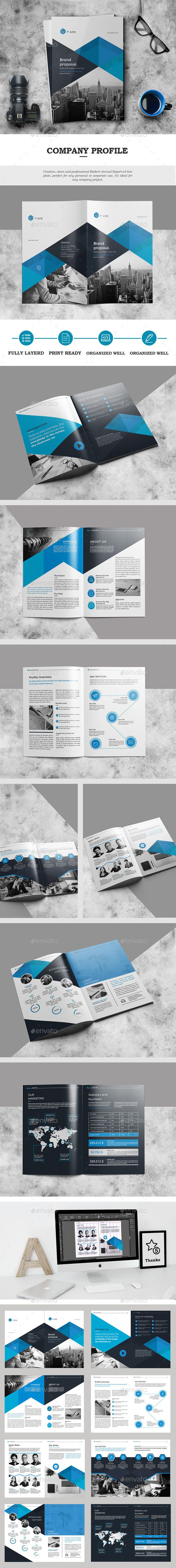The Brochure Design Template  - Catalogs Brochures Design Template InDesign INDD. Download here: https://graphicriver.net/item/the-brochure/18840324?ref=yinkira