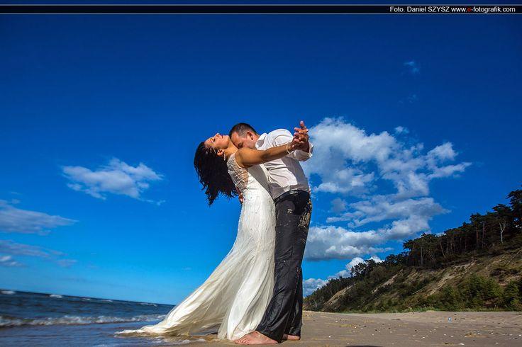 #wedding #ślub #zdjęciaślubne #plaża #bałtyk