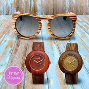 Take a look at the EARTH wood watches & sunglasses | Women event on #zulily today!