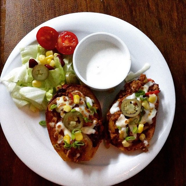 Fried Potato Skins from our Mexican Menu