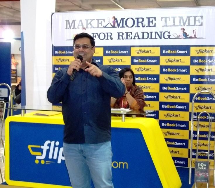 Ashok Banker at our World Book Fair stall