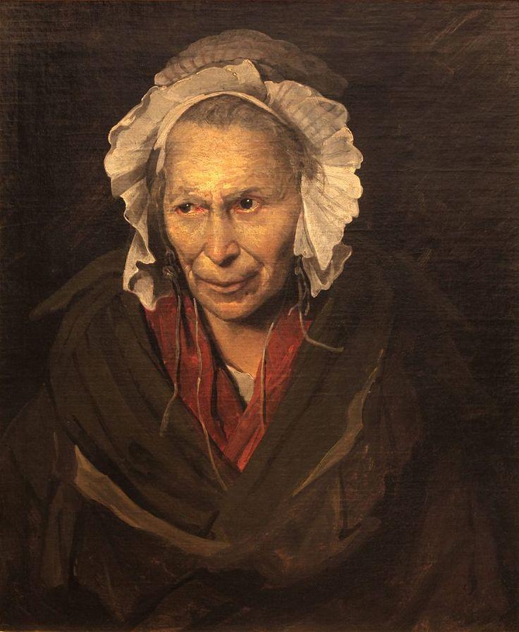 La Monomane de l'envie (ou La Hyène de la Salpêtrière), par Théodore Géricault