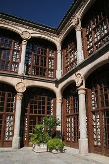 Zamora Palacio de los Condes de Alba y Aliste
