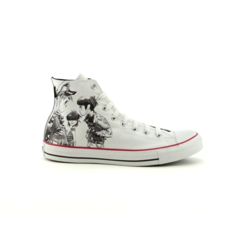 Shop for Converse All Star Gorillaz Hi Athletic Shoe in White at Journeys  Shoes. Shop