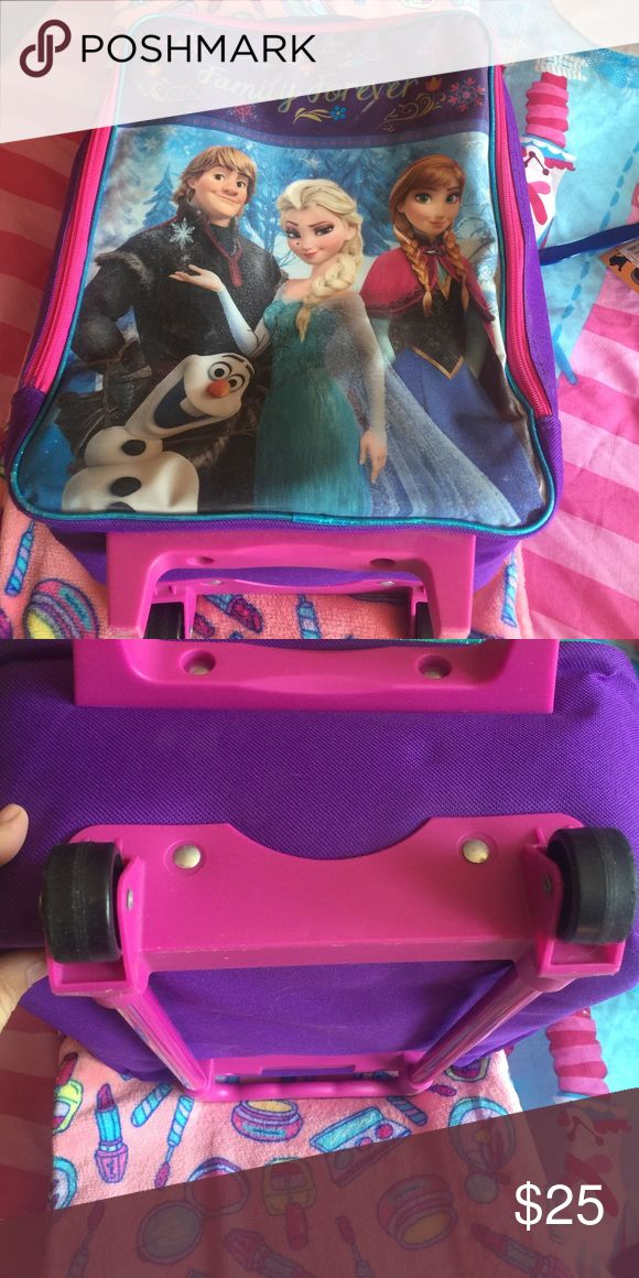 Disney Frozen suitcase bag Great condition Disney Accessories Bags