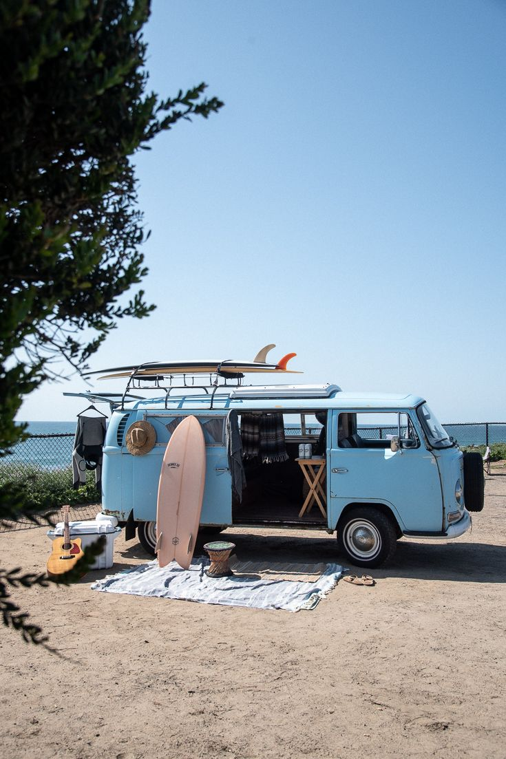 Surf Safari Giveaway / Score a New Surfboard & Campervan