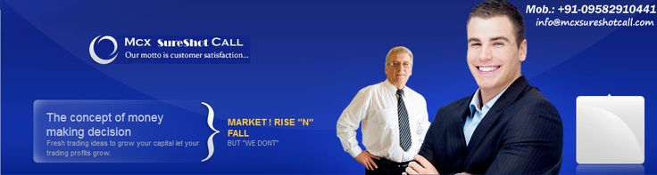 Mcxsureshotcall owned by M/s Mcx Sureshot Call, it is investment advisory certified company.
