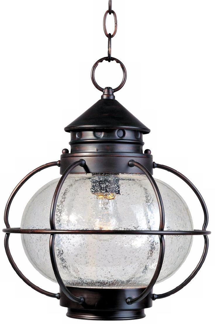 "Nautington 14"" High Outdoor Hanging Lantern"