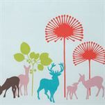 Deer oilcloth from Design by Susanne Schjerning by Susanne Schjerning