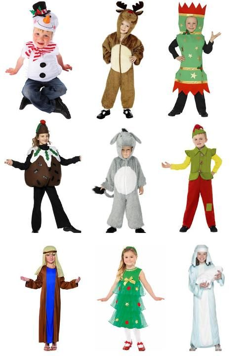 Charming Christmas Party Fancy Dress Ideas Part - 11: Childrenu0027s Christmas Fancy Dress Outfits Taken From A Blog  Http://www.4manchesterwomen