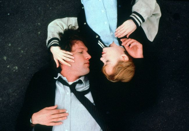 Trust (1990) dir. Hal Hartley starring Adrienne Shelley and Martin Donovan.