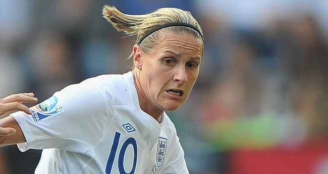 Kelly Smith: - star GB women's football  player - our great hope for the London 2012 Olympics