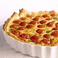 Kaas-tomatentaart