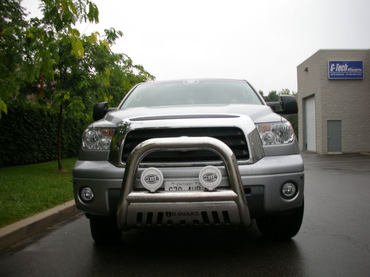 Stainless Steel Bull Bar with lights