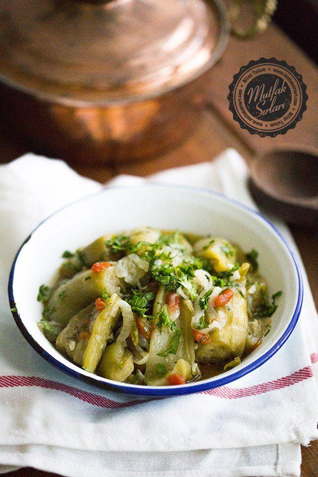 Patlıcan Silkme (Zeytinyağlı)   Mutfak Sırları