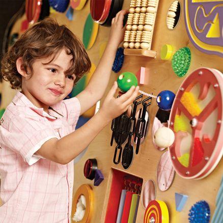 Mejores 32 im genes de paredes y paneles sensoriales en for Paredes sensoriales