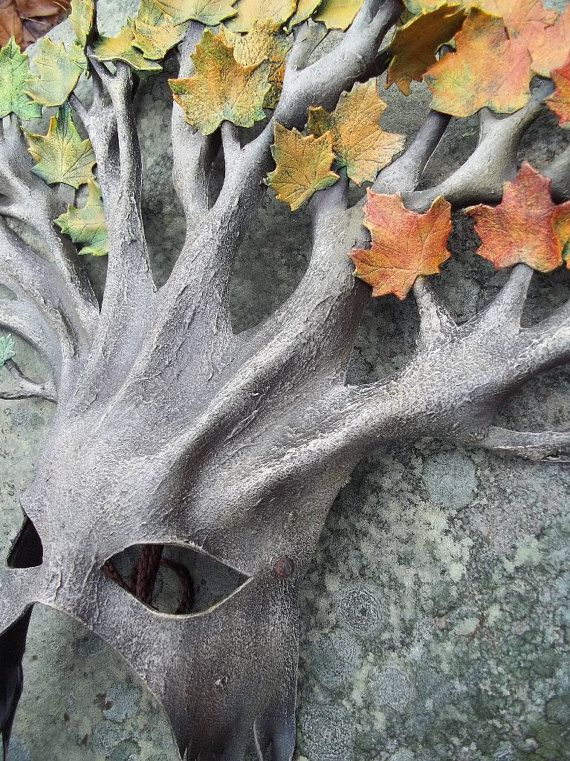 maple tree mask (leather) ~ very cool!!