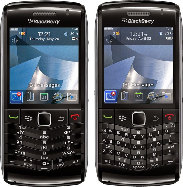 Retromobe - retro mobile phones and other gadgets: BlackBerry Pearl 3G 9100 / 9105 (2010)